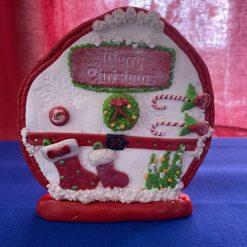 Christmas Fairy Door Ornament
