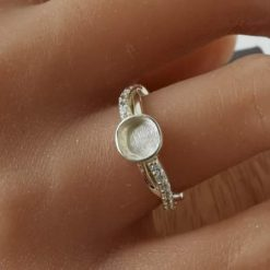 Juliette ring memorial cremation jewellery