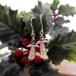 Festive Earrings, Fairies, Gift for Her, Stocking Filler