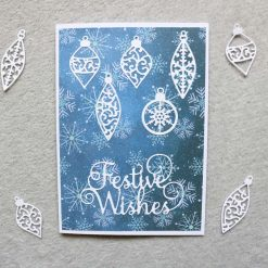 Christmas Festive Wishes Greetings Card