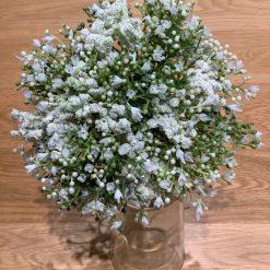Gypsophila Bridesmaid bouquet, Rustic, White bouquet