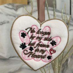 Heart shaped Pet Memorial