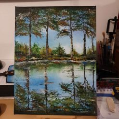 Trees -Oil Painting