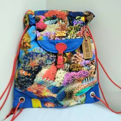 Coral Reef Daysack from Sand Bags, St Ives by Naomi