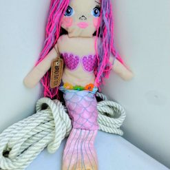 Handcrafted Mermaid Doll from Sand , St Ives by Naomi