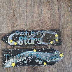 Wallhanging#reachforthestars