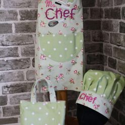 Children's apron & chef hat set