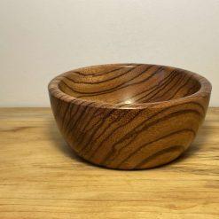 Hand turned Zebrano bowl