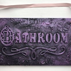 Door/Wall Plaque - Bathroom