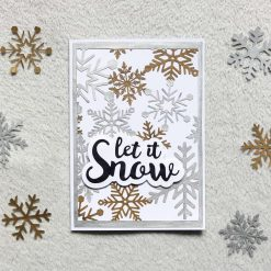 Christmas Let it Snow Greetings Card