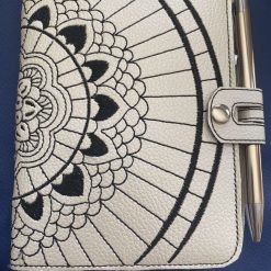 Notebook Cover - Mandala Design (Notebook & Pen Option)