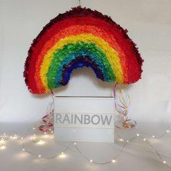 Large Rainbow Piñata