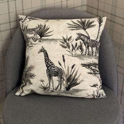 """Handmade Fryetts SAFARI Natural Cushion - 16""""/40cm"""