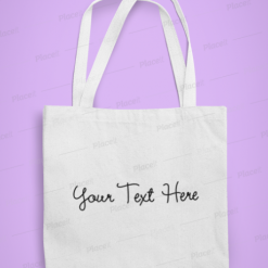 Fully Personalised Cotton Tote, Personalise, Funny Quotes and Saying, Motivational Tote, Inspirational Tote, Be Happy, Choose Happy, Live Happy, Reusable Message Bag, Grocery Bag, Gift, Gift Ideas, Cheer Up Gift