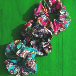 Set of 3 Candy Skull Scrunchies