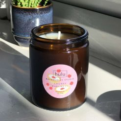 Hulu – Cherry Bakewell – 18cl Apothecary Soy Candle – 30hours