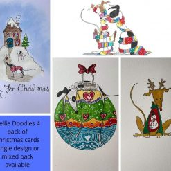 Nellie Doodles Christmas Cards 2021