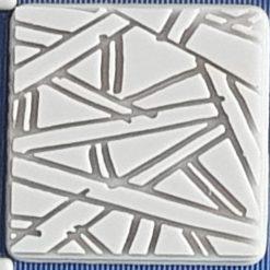 *NEW* Doodle lines texture plate 6cm x 6cm