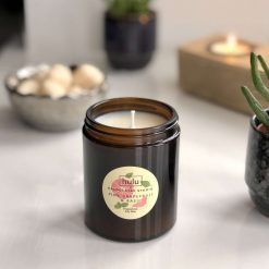 Hulu - Pink Grapefruit & Basil - 18cl Apothecary Soy Candle - 30hours