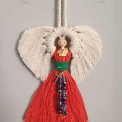 Angel for Christmas in macrame