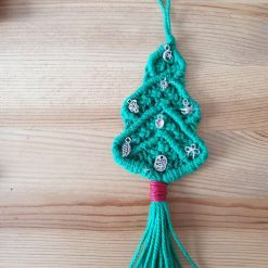 Christmas Tree in macrame