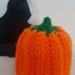 Hand Crocheted Pumpkin Chocolate Orange Cover