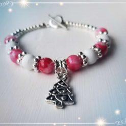 Natural Gemstones Bracelet for Christmas