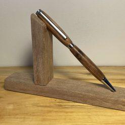 Hand turned wooden twist pen walnut