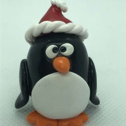 Polymer clay Christmas Character ~ Santa