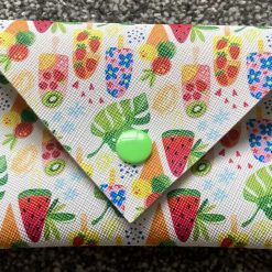 Faux leather glasses case-ice lollies