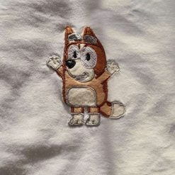 Embroidered unisex T-shirts 1-6 years