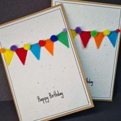 Happy Birthday - Felt Bunting