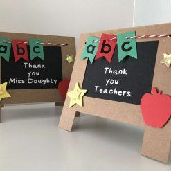Thank you Teacher/Mr/Miss/Mrs easel card