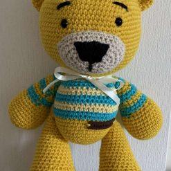Max the teddy bear