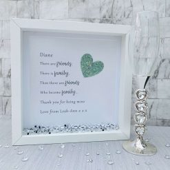 There Are Friends, Frame for Friend, Friendship Birthday Gift, Sparkle Present