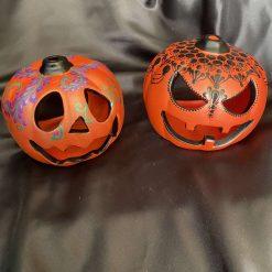 Pumpkin Tealight holders