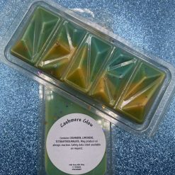 Cashmere Glow Geo Snap Bar Clamshell Wax Melts- Body & Bath Company Inspired
