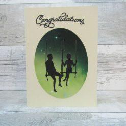 Handmade Congratulations Engagement Wedding Card