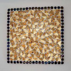 Mosaic Heat mat. Orange