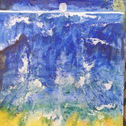 Sea and moon