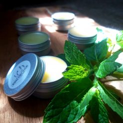 Natural Hand Crafted Beeswax Lip Balm with Peppermint Essential Oil CPSR Assessed 10g