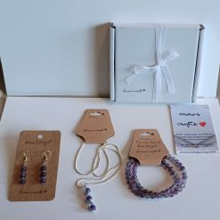 Crystal beaded jewellery set (Copy)