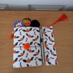 A6 Size laminated Halloween Themed notebook (1)