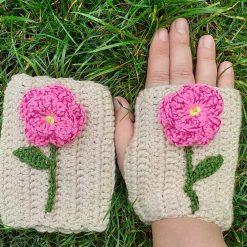fingerless gloves crochet designs
