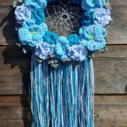 dreamcatcher wreath wallhanging
