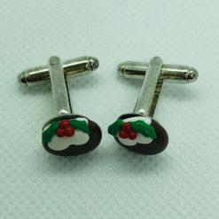 Novelty Christmas stud earrings ~ Christmas Puddings ~ Not edible!