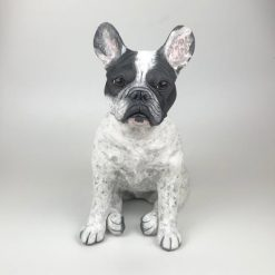 French Bulldog Sculpture/ Urn- Hand Sculpted from your Photos