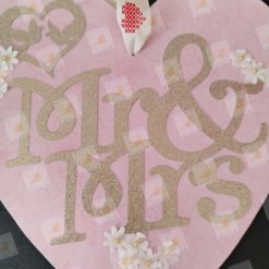 Wedding plaque - Mr & Mrs.