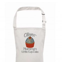 Personalised Apron, Mummy's Little Cupcake 3-6yrs