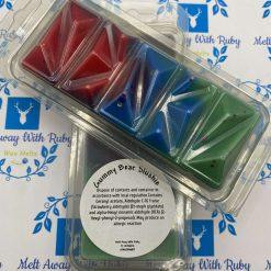 Gummy Bear Slushie Geo Snap Bar Clamshell Wax Melts